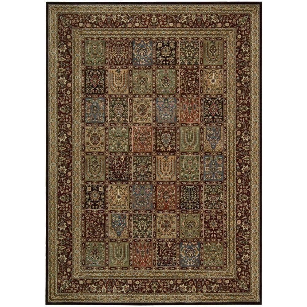 Persian Arts Multicolor 7 ft. 9 in. x 10 ft. 10