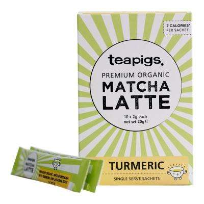 MATCHA Turmeric Tea Sachets (6 Boxes of 10)