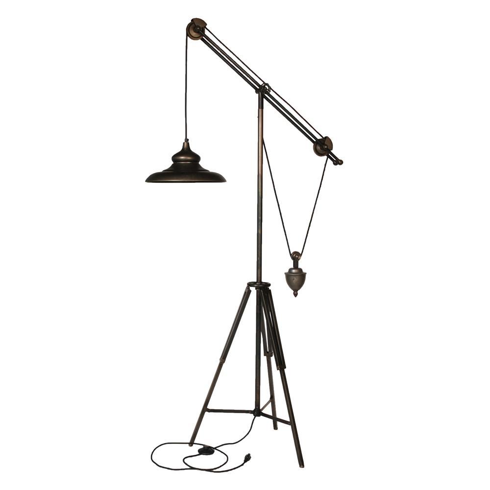 Arris 68.8 in Dark Bronze Floor Lamp