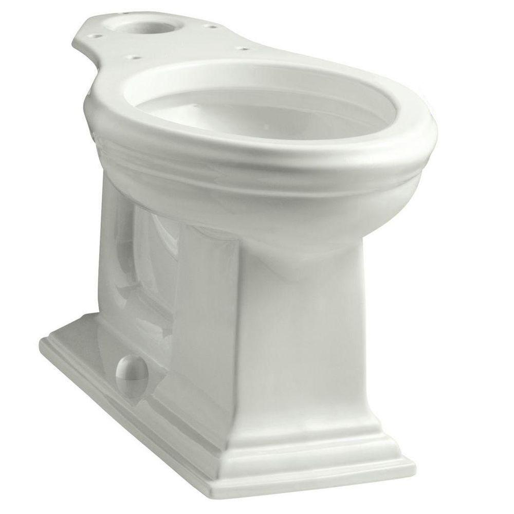 Memoirs Comfort Height Elongated Toilet Bowl Only in Dune