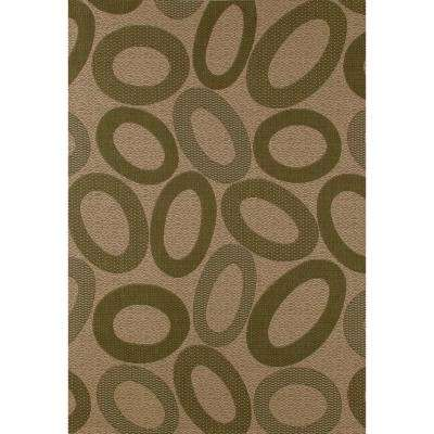 Plymouth Floating Beige 7 Ft X 9 Indoor Outdoor Area Rug