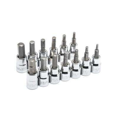 1/2 in. Drive Hex Bit Socket Set (9-Piece)