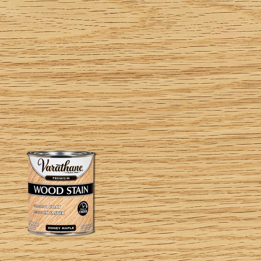 Varathane 1 qt. Honey Maple Premium Fast Dry Interior Wood Stain (2-Pack)