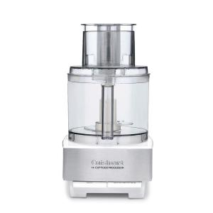 Cuisinart Custom 14-Cup Food Processor in Brushed Stainless Steel and white by Cuisinart