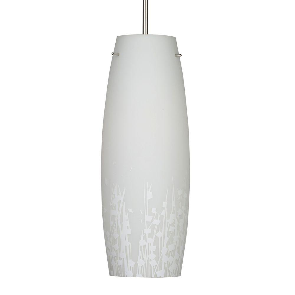 Aspects Nia-1-Light White Hanging Pendant