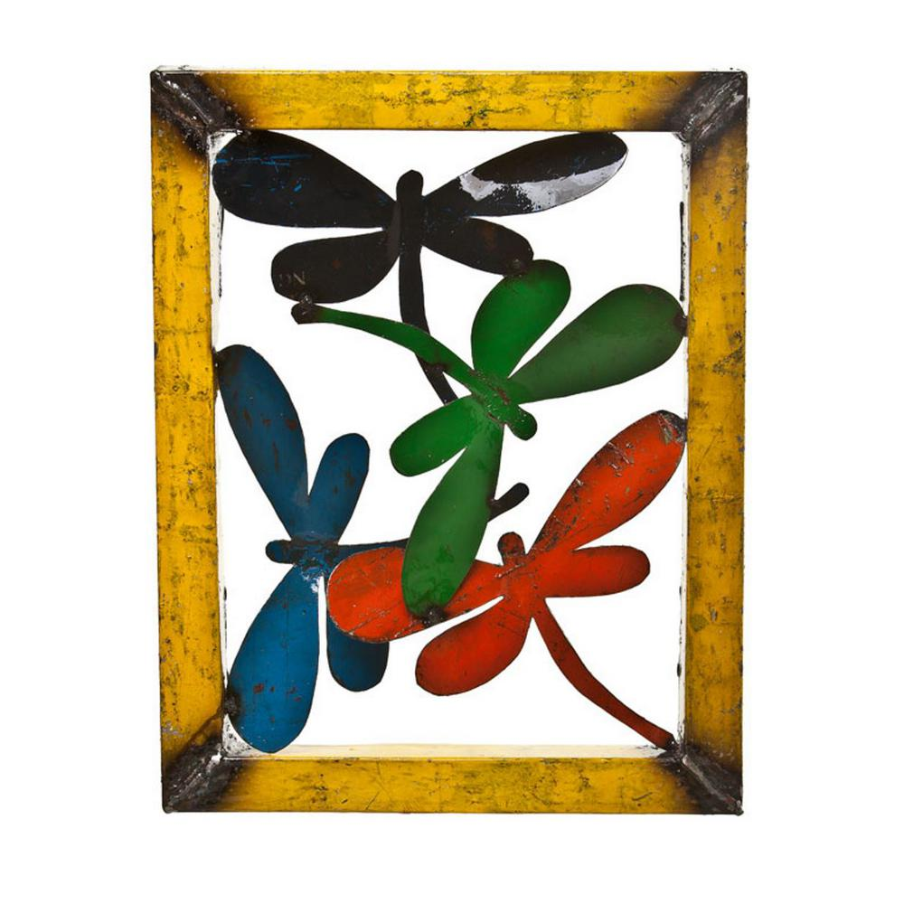 UpcycledEmporium Upcycled Emporium Small Dragonfly Wall Decor