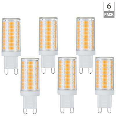 40-Watt Equivalent G9 Base Dimmable Soft White LED Light Bulb (6-Pack)