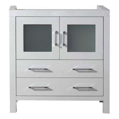 Dior 32 in. Vanity Cabinet Only in White