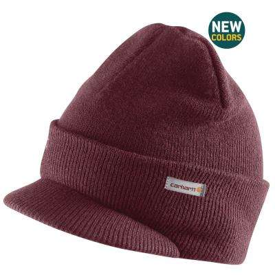 Men's OFA Port Acrylic Knit Hat with Visor