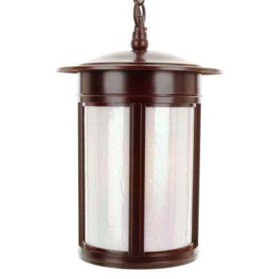3-Light Outdoor Hanging Lantern Oil Rubbed Bronze
