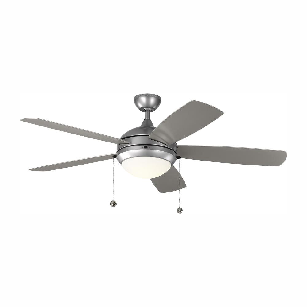 Monte Carlo Discus Outdoor 52 in. LED Indoor/Outdoor Painted Brushed Steel Ceiling Fan was $299.96 now $179.97 (40.0% off)