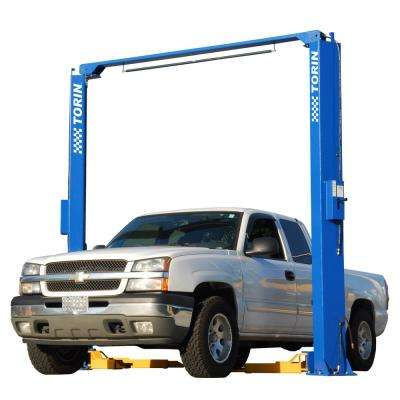11,000 lb. Car Lift, 2 Post Overhead Clearfloor, 3 stage rear arms, 3 stage front arms