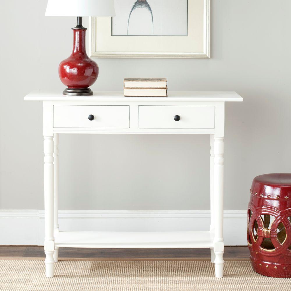 Terrific Safavieh Gomez Distressed Cream Storage Console Table Lamtechconsult Wood Chair Design Ideas Lamtechconsultcom
