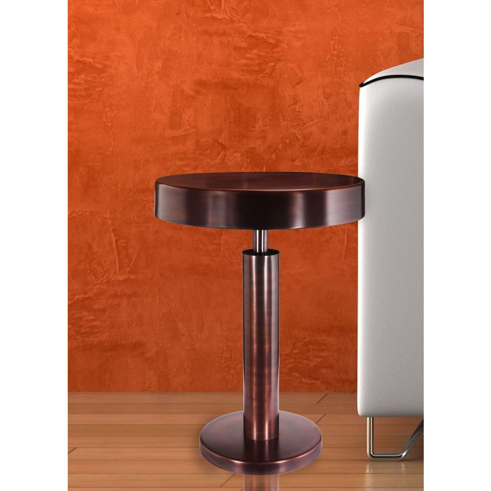 Kenroy Home Altair Antique Copper End Table