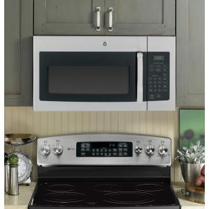 13 Ge 1 6 Cu Ft Over The Range Microwave