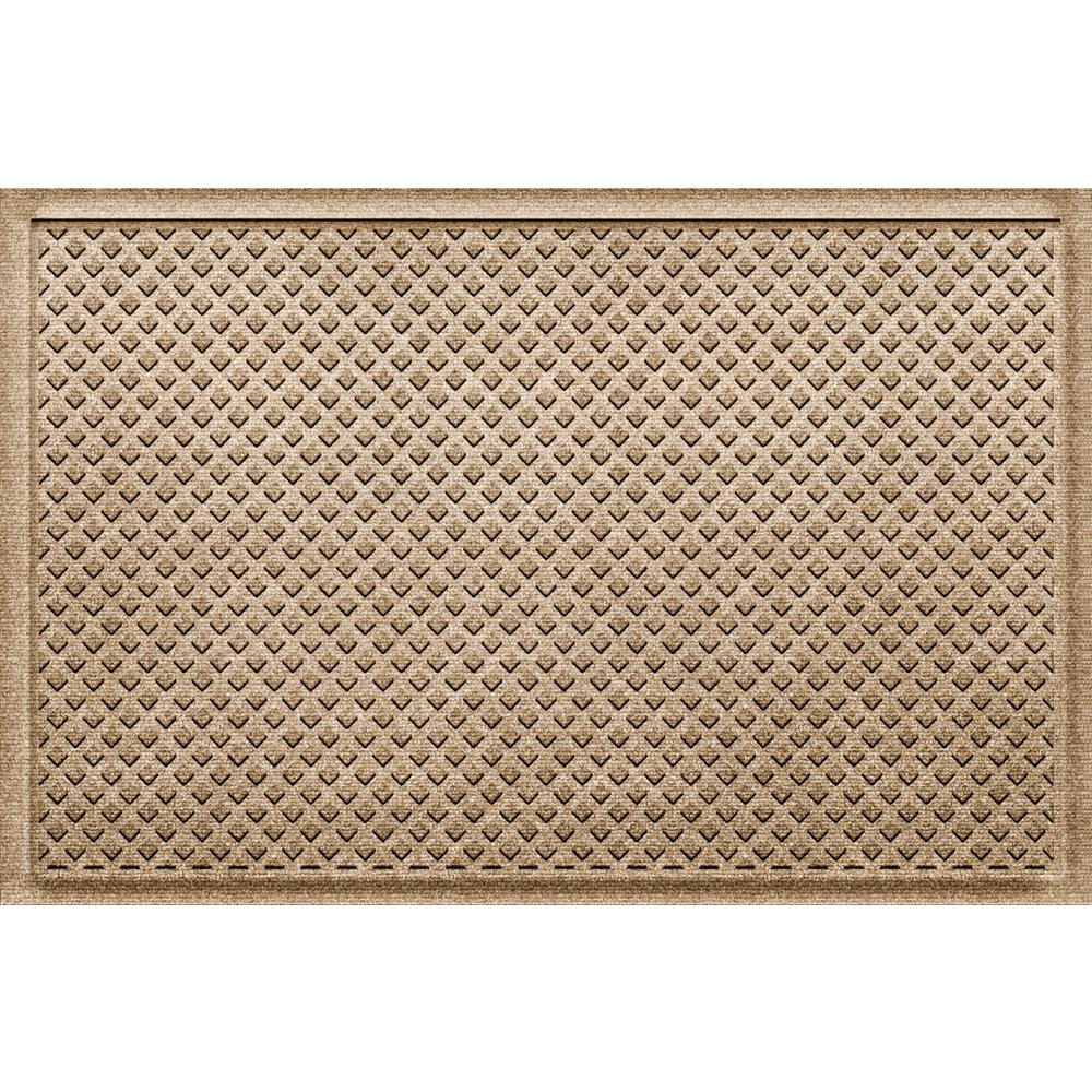 Gems Camel 24 in x 36 in Polypropylene Door Mat