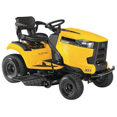 XT1 Enduro LT 42 in. 56-Volt 60 Ah Battery Lithium-Ion Electric Front Engine Riding Lawn Tractor