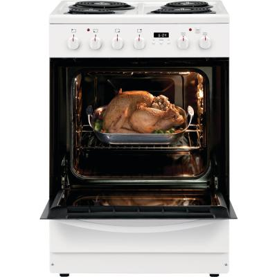 24 in. 1.9 cu. ft. Freestanding Electric Range with Manual Clean in White