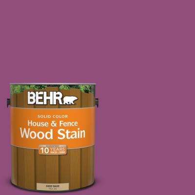 1 gal. #P110-7 XOXO Solid Color House and Fence Exterior Wood Stain