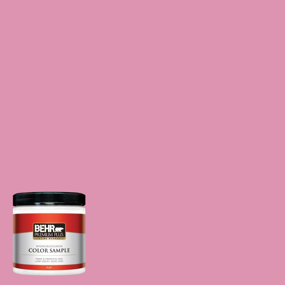 BEHR Premium Plus 8 oz. #P130-4 It's a Girl Interior/Exterior Paint Sample