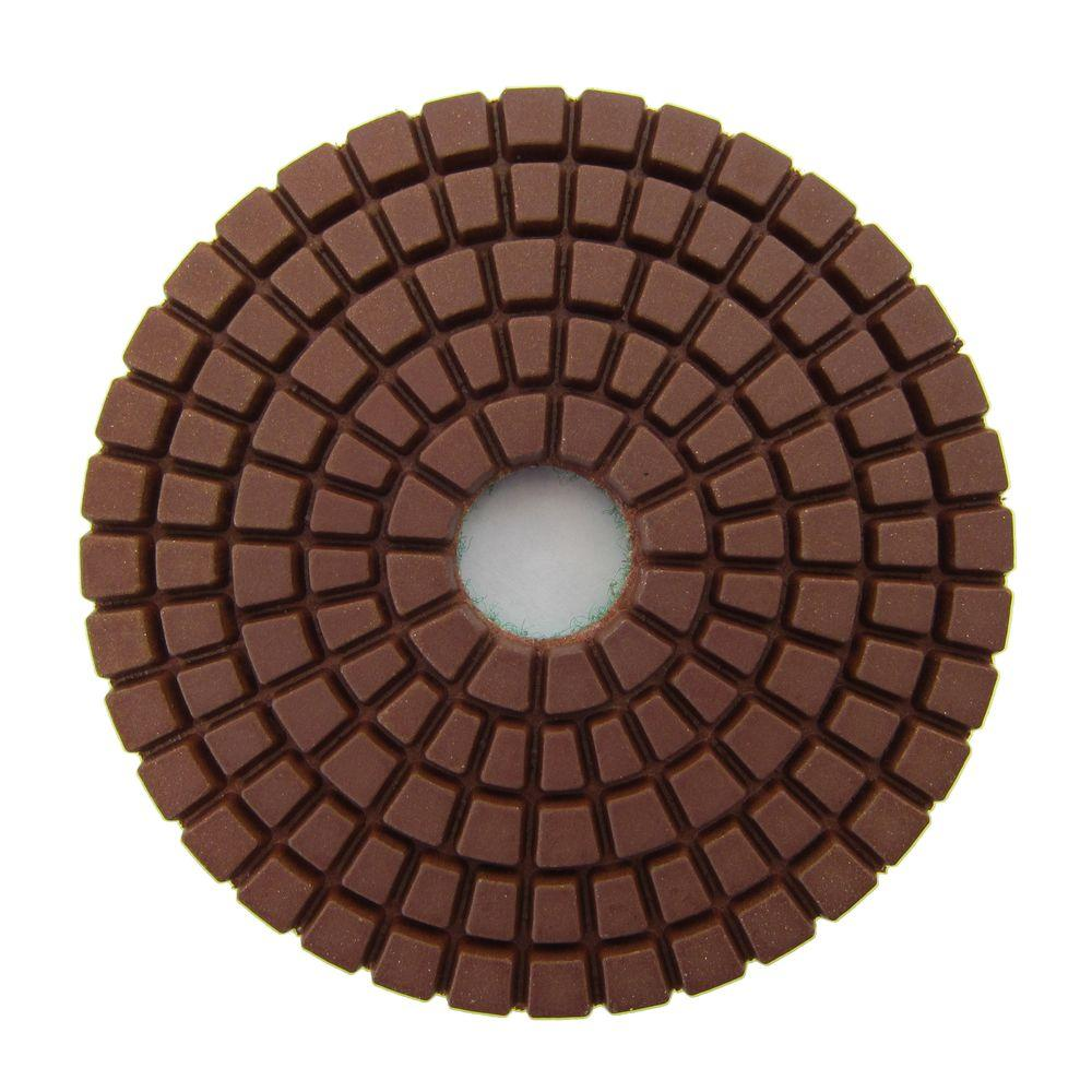 Archer USA 3 in  #400 Grit Wet Diamond Polishing Pad for Stone