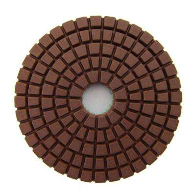 3 in. #400 Grit Wet Diamond Polishing Pad for Stone
