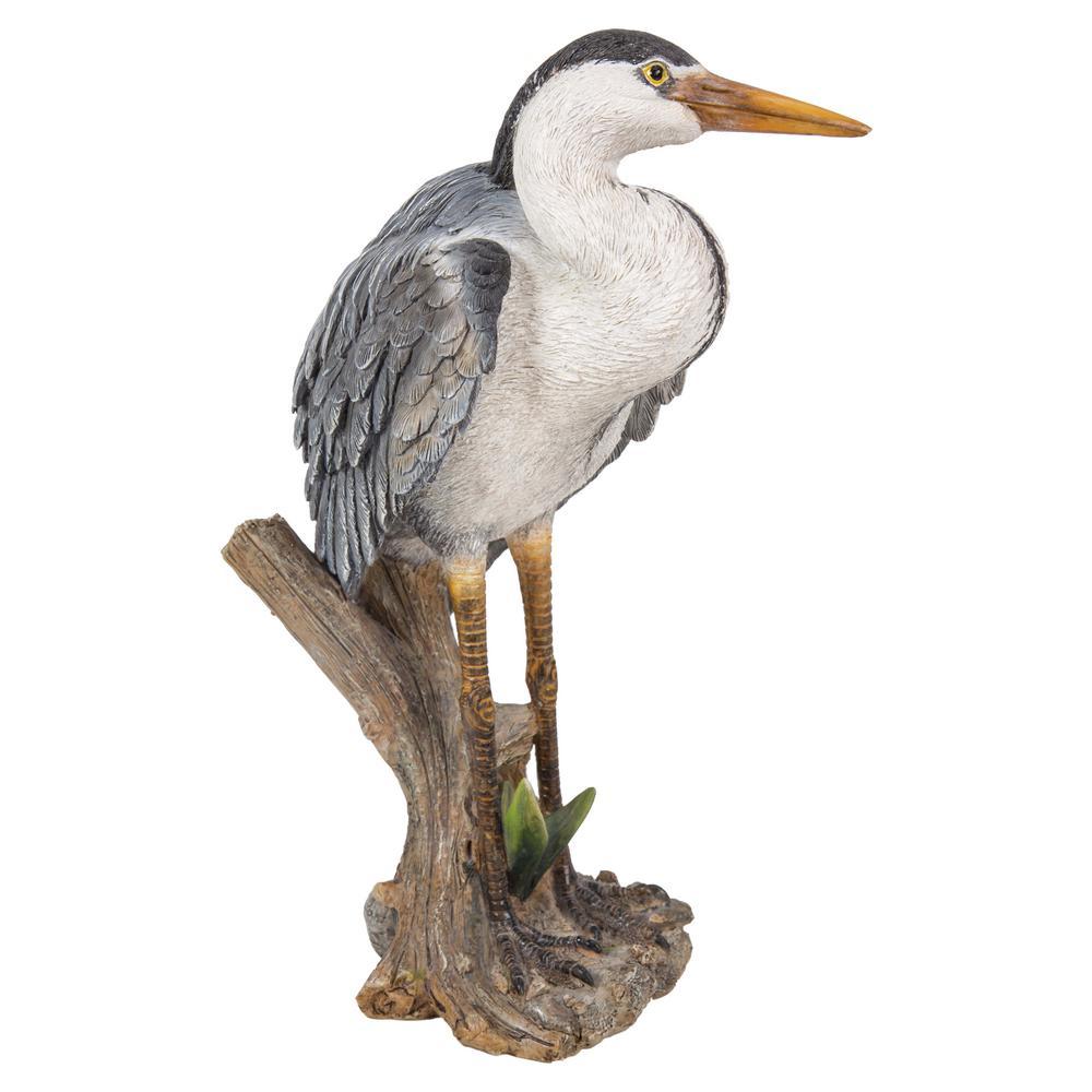 Heron Standing Statue