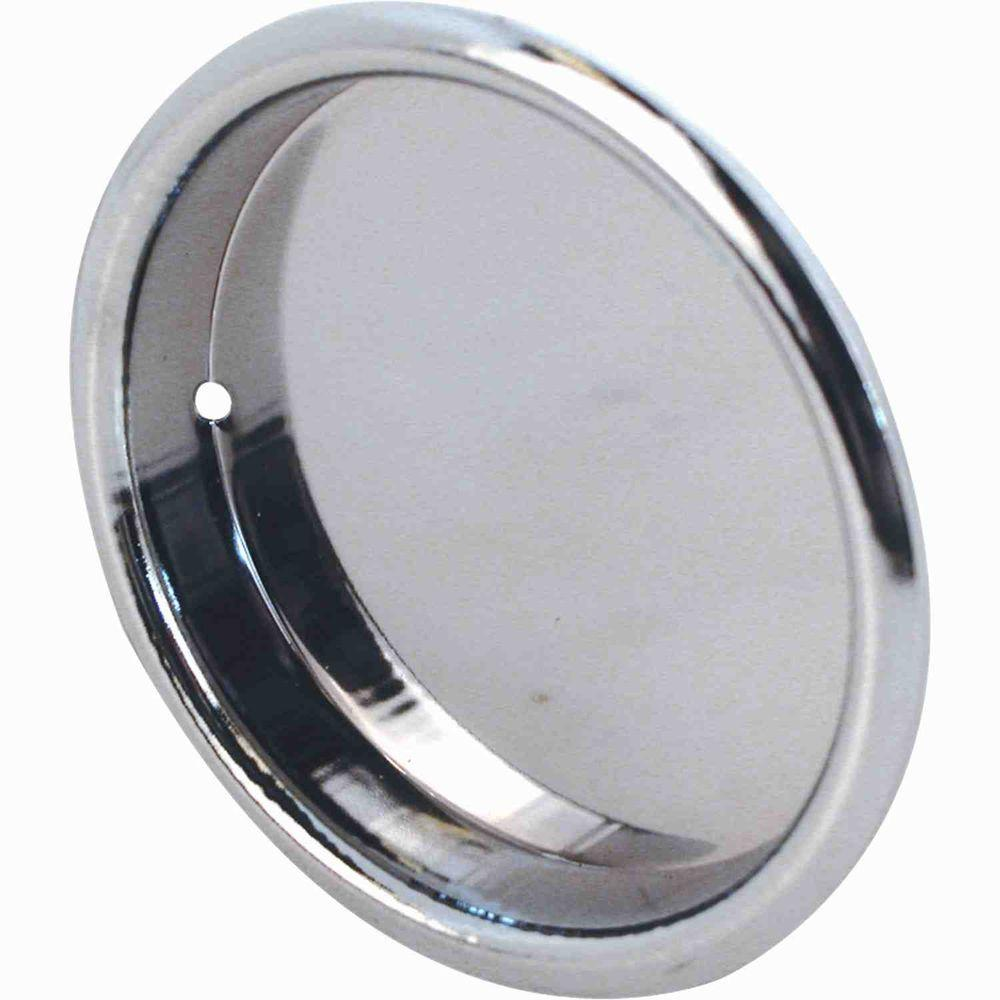 Prime Line Sliding Wardrobe Door Pull   Chrome Plated