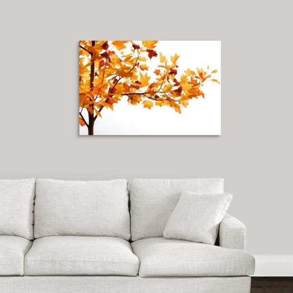 GreatBigCanvas ''Fall Time'' by Philippe Sainte-Laudy Canvas Wall Art 2477824_24_36x24