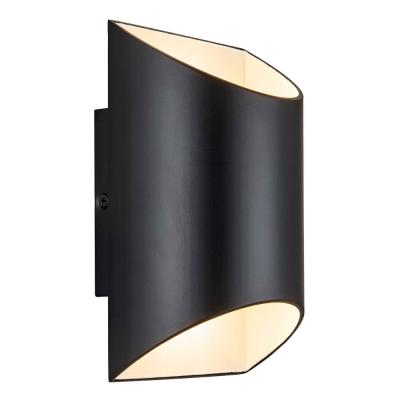 Black LED Outdoor Wall Cylinder Light