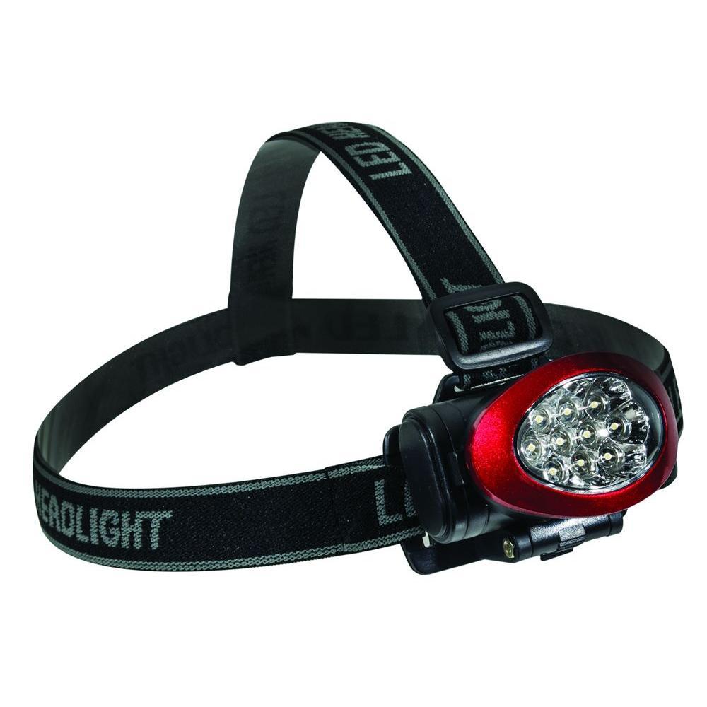 10 LED High Intensity Headlight, Red
