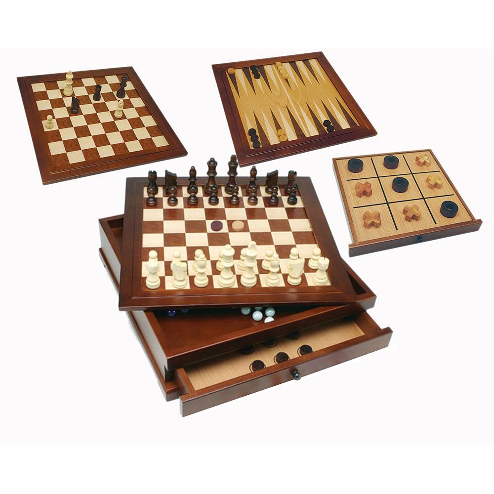 10-in-1 Camphor Wood Combination Set