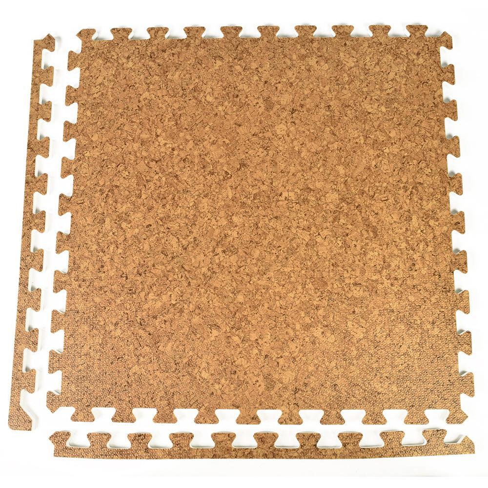 Greatmats Foamfloor Cork Design 2 Ft X