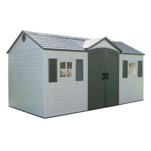 Lifetime 15 ft. x 8 ft. Outdoor Garden Shed by Lifetime