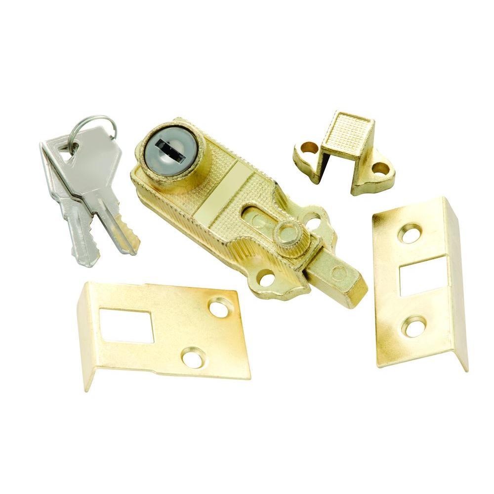Polished Brass Keyed Alike Cabinet Bolt