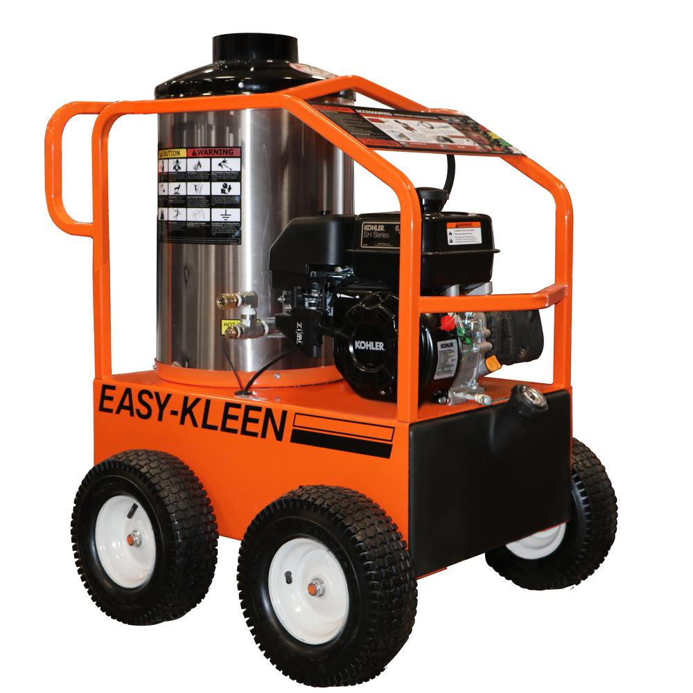 Commercial 2700 PSI 3 GPM Gasoline Driven Hot Water Pressure Washer