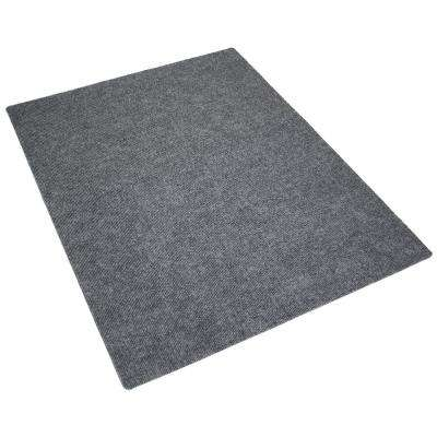 Charcoal 28 in. x 20 in. Cat Litter Mat (Set of 2)