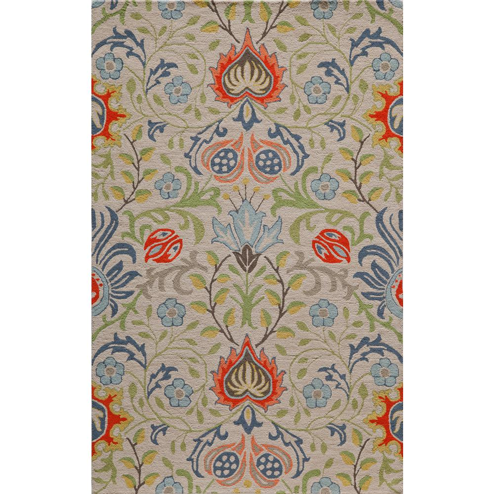 Momeni Newport Multi 8 Ft X 10 Indoor Area Rug Newponp 12mti80a0 The Home Depot