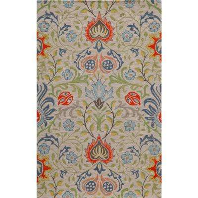 Newport Multi 8 ft. x 10 ft. Indoor Area Rug