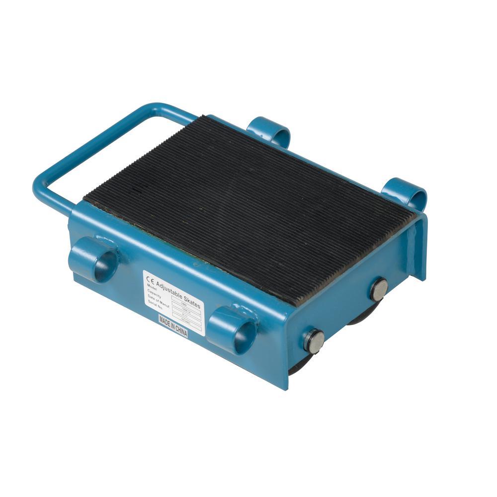 Vestil 6 Ton Capacity Machinery Skates Adjust Askt 6 The