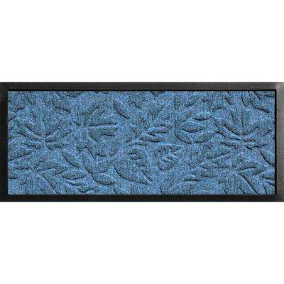 Aqua Shield Boot Tray Fall Day Bluestone 15 in. x 36 in. Door Mat
