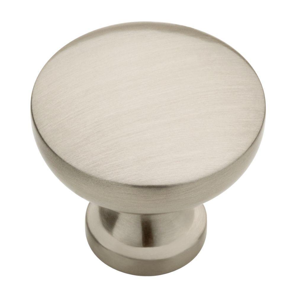 Lansford 1-3/16 in. (30 mm) Satin Nickel Cabinet Round Knob