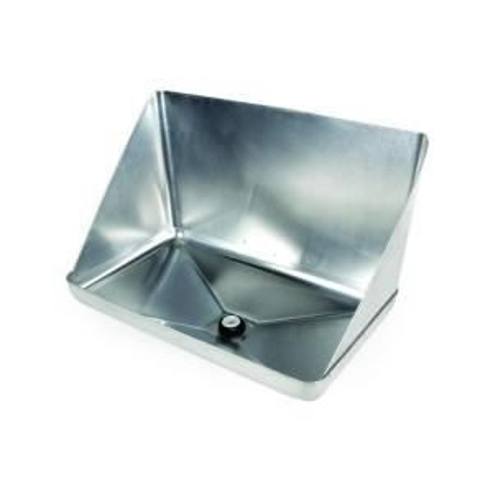 Everbilt Aluminum Tankless Water Heater Drain Pan With Pvc