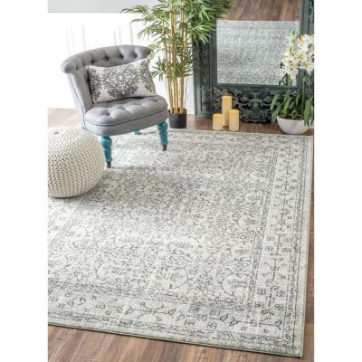 Waddell Vintage Gray 9 ft. x 12 ft. Area Rug