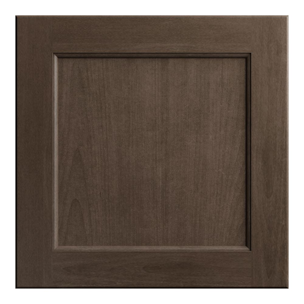 Hampton Bay 12.75x12.75 in. Cabinet Door Sample in Shaker Brindle
