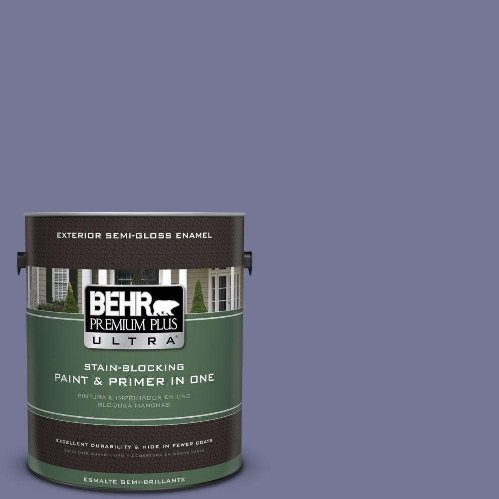 BEHR Premium Plus Ultra 1-gal. #S560-5 Royal Fortune Semi-Gloss Enamel Exterior Paint