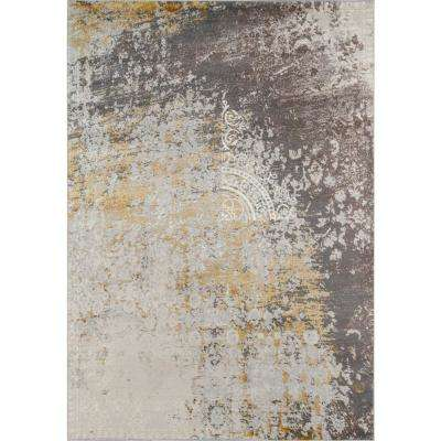 Luxe Gold 5 ft. x 8 ft. Indoor Area Rug
