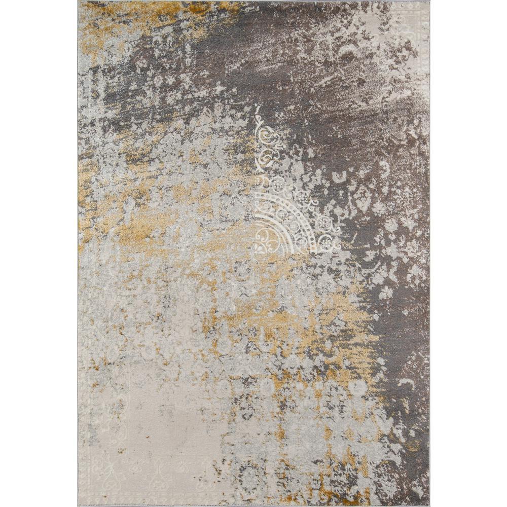 Luxe Gold 8 ft. x 10 ft. Indoor Area Rug