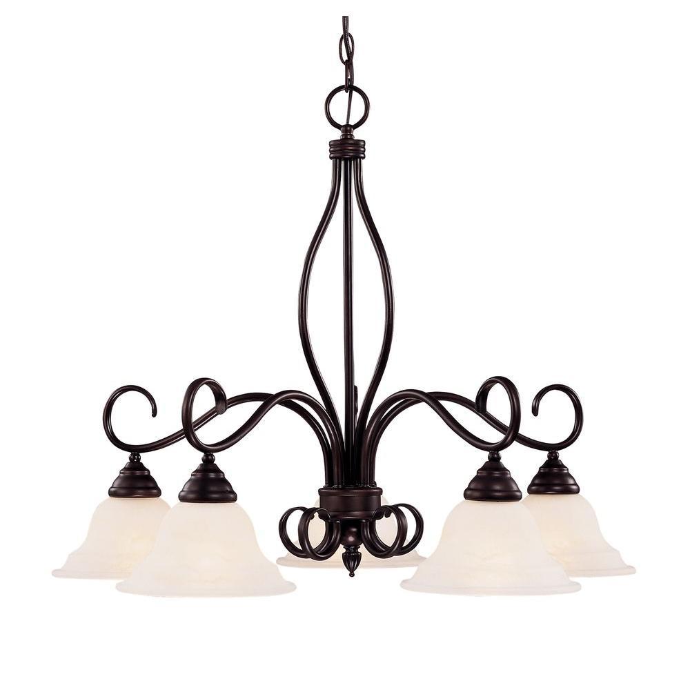 Illumine 5 light english bronze multi light interior chandelier illumine 5 light english bronze multi light interior chandelier arubaitofo Gallery