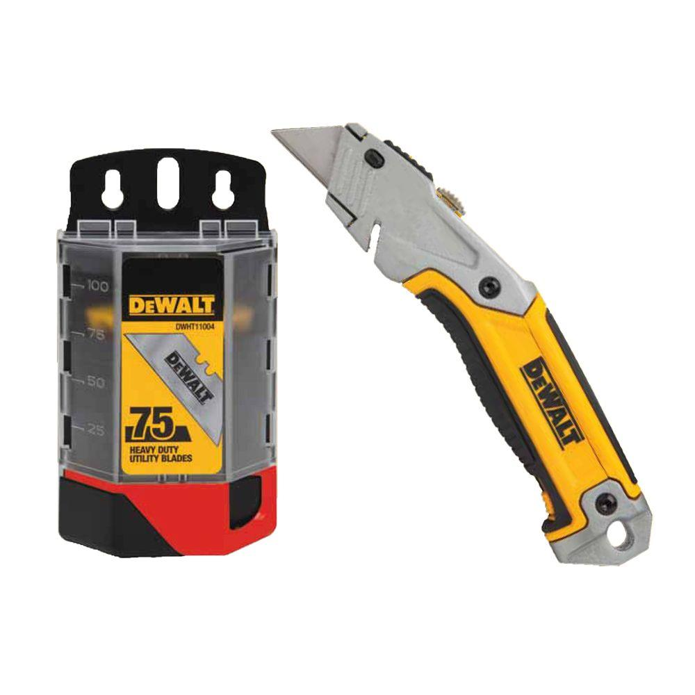 how to change blade in dewalt 10046 utility knife